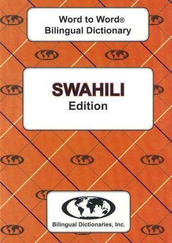 9780933146556 image English-Swahili & Swahili-English Word-to-Word Dictionary