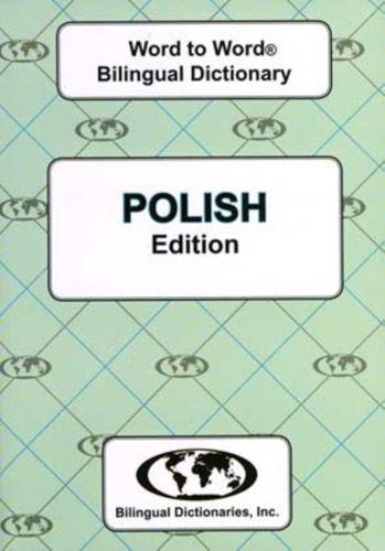 English-Polish & Polish-English Word-to-Word Dictionary