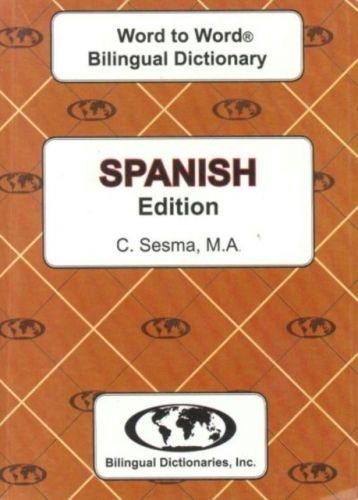 9780933146990 image English-Spanish & Spanish-English Word-to-Word Dictionary