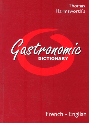 Gastronomic Dictionary: Portuguese - English