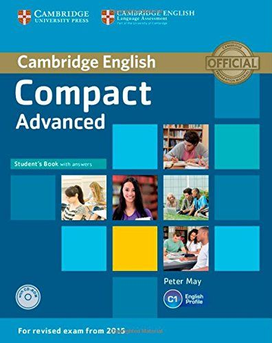 9781107418028 image Compact Advanced Student's Book with Answers with CD-ROM