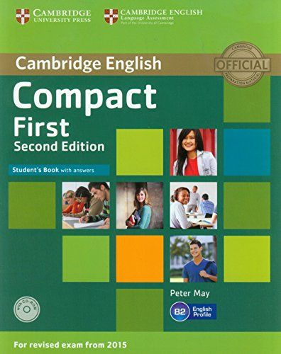 9781107428447 image Compact First Student's Book with Answers with CD-ROM