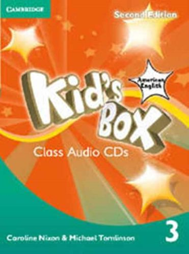 Kid's Box American English Level 3 Class Audio CDs (2)