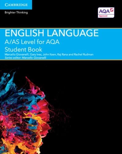 9781107465626 image A Level (AS) English Language AQA