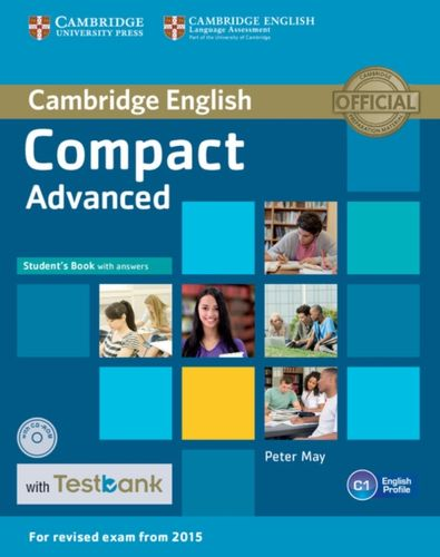 Compact Advanced Student's Book with Answers with CD-ROM with Testbank