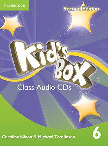 Kid's Box Level 6 Class Audio CDs (4)