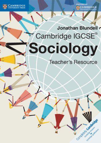Cambridge IGCSE Sociology Teacher CD-ROM