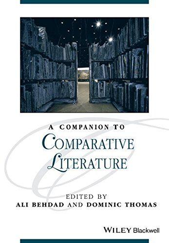 Companion to Comparative Literature