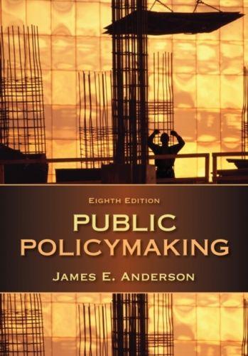 9781285735283 image Public Policymaking