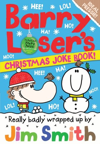 9781405287210 image Barry Loser's Christmas Joke Book