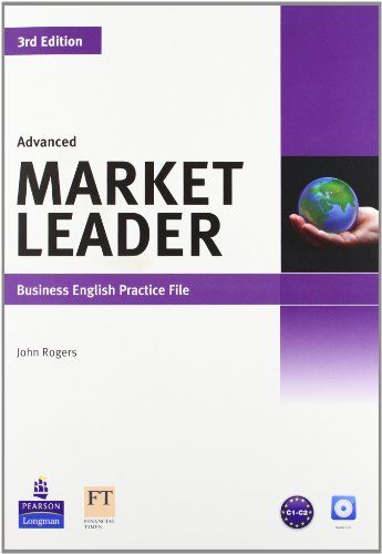 9781408237045 image Market Leader 3rd Edition Advanced Practice File & Practice File CD Pack
