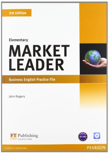 9781408237069 image Market Leader 3rd Edition Elementary Practice File & Practice File CD Pack