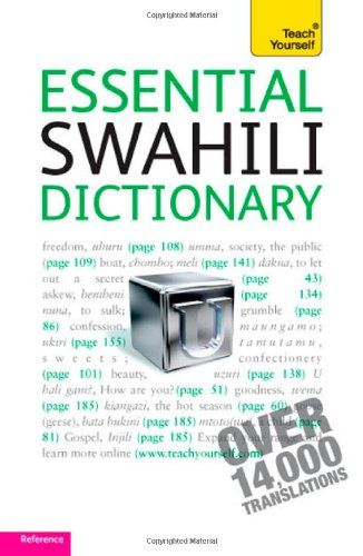 9781444104080 image Essential Swahili Dictionary: Teach Yourself