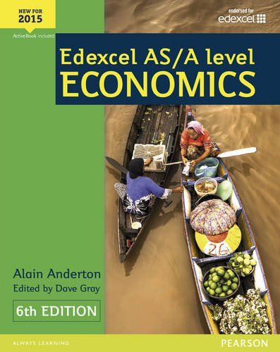 9781447990550 image Edexcel AS/A Level Economics Student book + Active Book