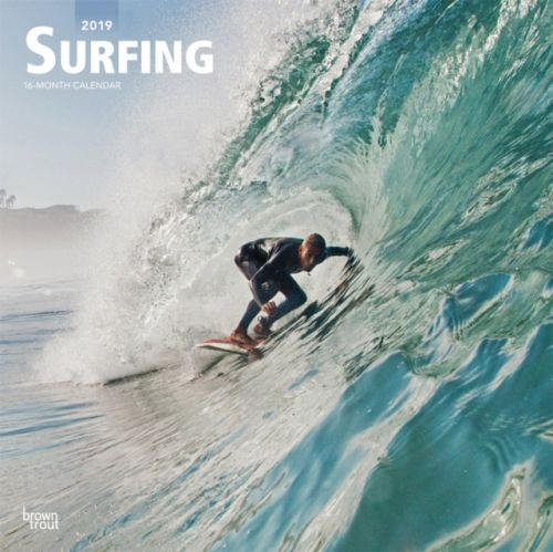 Surfing 2019 Square Wall Calendar
