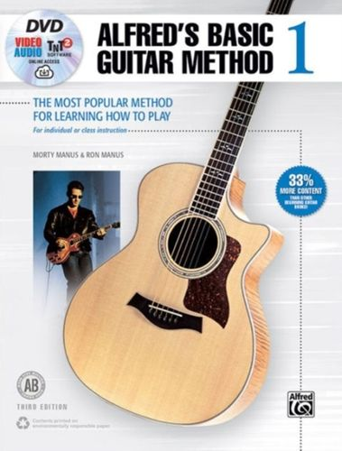 ALFRED'S BASIC GUITAR BOOK 1 BOOK AND CD