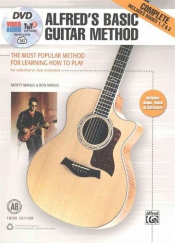 9781470631406 image ALFRED'S BASIC GUITAR METHOD 3RD EDITION