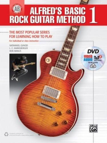 ALFREDS BASIC ROCK GUITAR METHOD BK DVD
