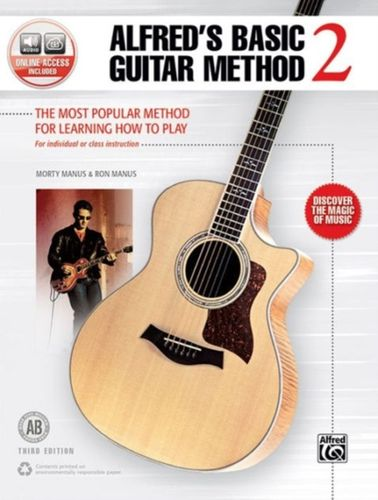 ALFRED'S BASIC GUITAR BOOK 2