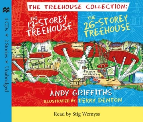 13-Storey & 26-Storey Treehouse CD set