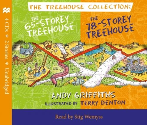 65-Storey & 78-Storey Treehouse CD Set