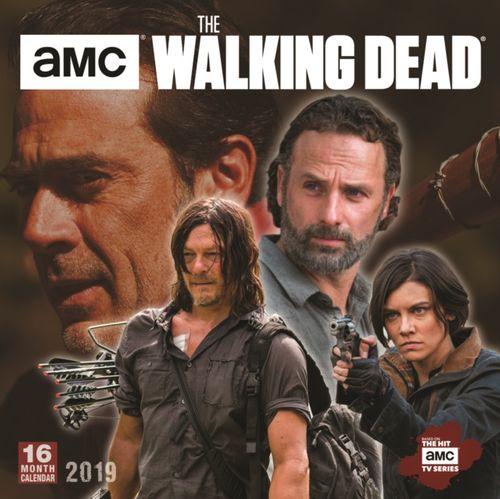 9781531904135 image Walking Dead Amc 2019 Square Wall Calendar