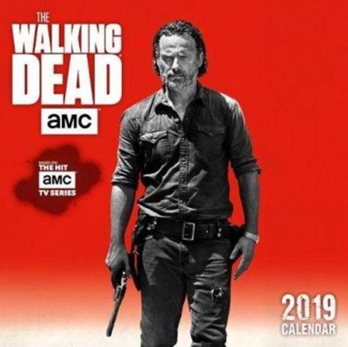 Walking Dead Amc 2019 Mini Wall Calendar