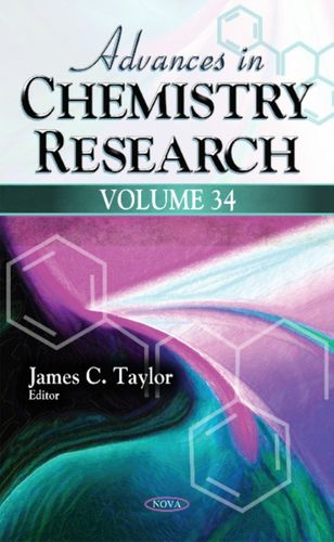9781536104684 image Advances in Chemistry Research