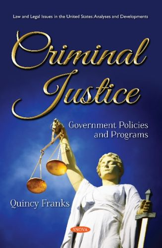 9781536141962 image Criminal Justice