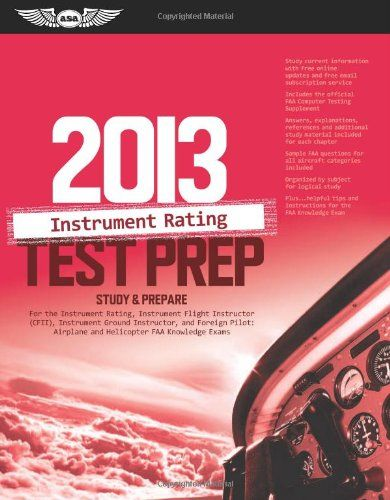 Instrument Rating Test Prep