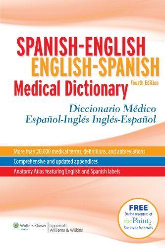 Spanish-English English-Spanish Medical Dictionary