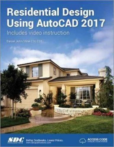 Residential Design Using AutoCAD 2017 (Including unique access code)