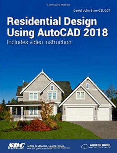 Residential Design Using AutoCAD 2018