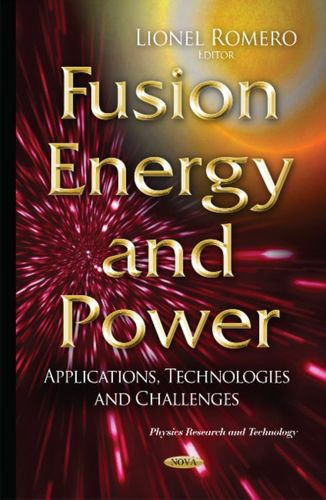 9781634825481 image Fusion Energy & Power
