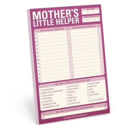 Knock Knock Mother's Little Helper Pad