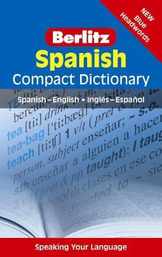 Berlitz Compact Dictionary Spanish