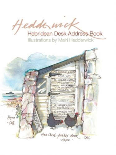 Hebridean Desk Address Book