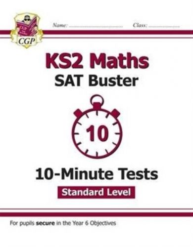 New KS2 Maths Targeted SAT Buster 10-Minute Tests - Standard (for the 2019 tests)