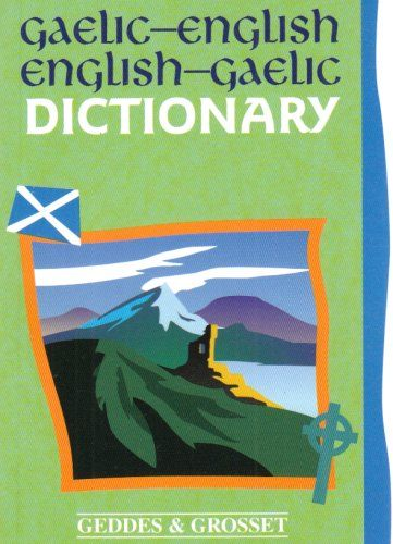 9781842055915 image Gaelic - English Dictionary