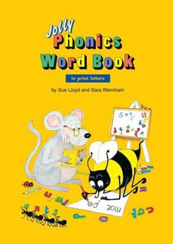 Jolly Phonics Word Book (in print letters)