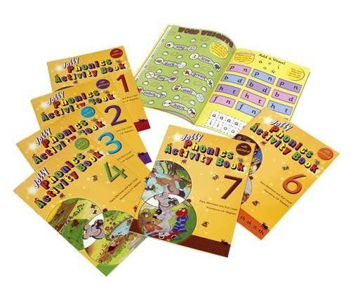 Jolly Phonics Activity Books 1-7