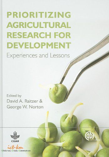 Prioritizing Agricultural Research for Development