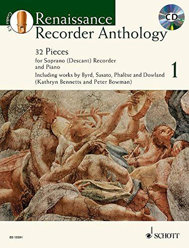 Renaissance Recorder Anthology + CD