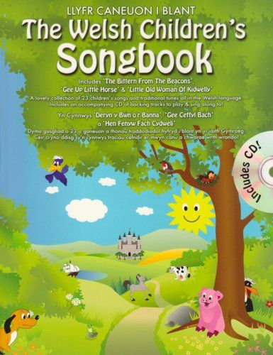 Welsh Children's Songbook (Book & CD)
