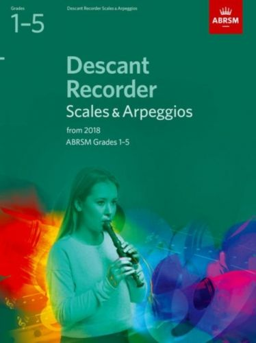 Descant Recorder Scales & Arpeggios, ABRSM Grades 1-5