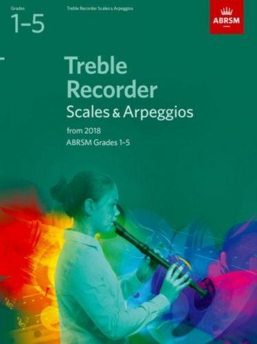Treble Recorder Scales & Arpeggios, ABRSM Grades 1-5