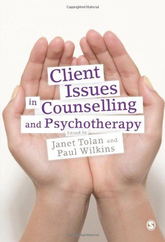 9781848600270 image Client Issues in Counselling and Psychotherapy