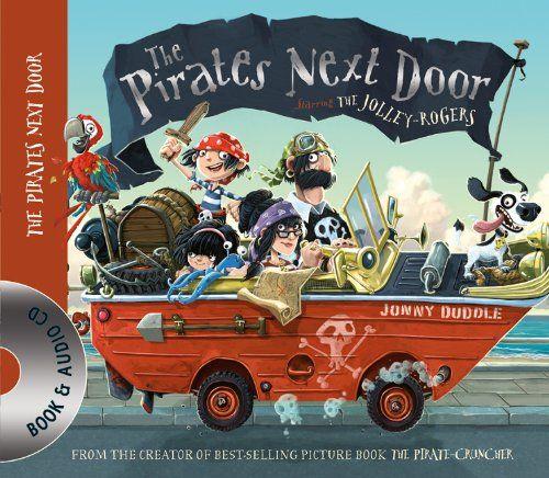 Pirates Next Door Book & CD