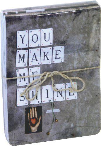 You Make Me Shine Mini Flip-top Notebooks (pack of 3)