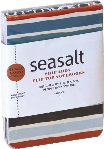 Seasalt: Ship Ahoy! Mini Flip-top Notebooks (pack of 3)